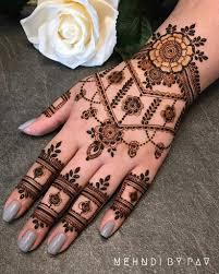 Arabic Mehndi Designs For Right Hand Easy Arabic Mehndi Designs For Left Hand Add That Regal