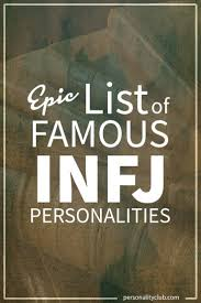 infj personality epic list of famous people with infj personality personality club