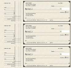 deskset style 2 parchment personal checks
