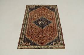 shiraz persian wool rug 5x8
