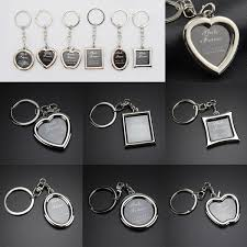 Creative heart portable Key keychain <b>frame rotary</b> Chain <b>Frame</b> Mini ...