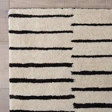 black and white striped rug supreme hand tufted decorating ideas 13