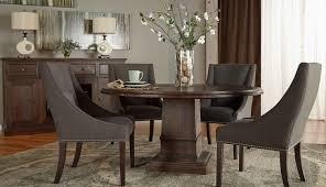 7 Piece Orient Express Furniture Hudson 60 Round Dining Set