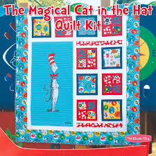 The Magical Cat in the Hat Quilt Kit Featuring The Cat in the Hat ... & The Magical Cat in the Hat Quilt Kit Featuring The Cat in the Hat by Dr Adamdwight.com
