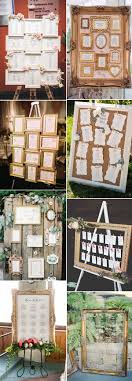 Wedding Seating Chart Frame Vintage Wedding Ideas Stylish Wedd Blog