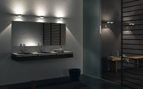 image of ideal modern bathroom lighting