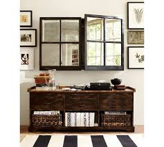 this might look good over a fireplace as well mirror cabinet a solution pottery barn