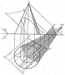 Тени Перспектива Проекции с числовыми отметками Программа  Рис 3 7