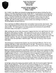 Ocala Brawl Report The Smoking Gun