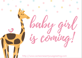 New Baby Girl Ecard New Baby Congratulations And Wishes