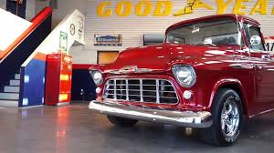 RED 1957 CHEVY 3100 TRUCK 454ci BBC 4-speed 12-bolt for sale - YouTube