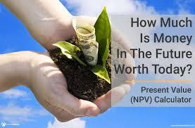 Present Value Calculator Npv