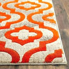 beautiful navy and orange rug increasetraffic co nv16