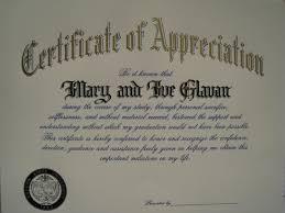 Amazing Sample Appreciation Certificates Templates Ideas Entry