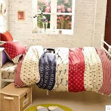 Kids Bedding Boys Hippie Rustic Beige Colorful Striped Kids Bedding ...