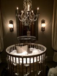 upscale baby furniture. round crib from baby u0026 child restoration hardware if only upscale furniture