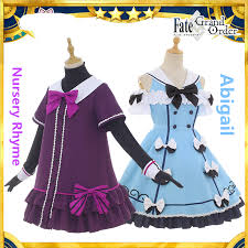 Us 66 44 6 Off Fate Grand Order Cosplay Nursery Rhyme Abigail Jack The Ripper Joan Of Arc Cosplay Costume Daily Suit Summer Dress In Game Costumes