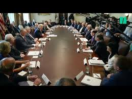 Trump Invites His Employees To Praise Him During Cabinet Meeting ...