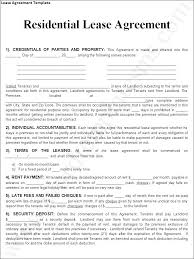 Blank Rental Agreement Form Free Printable Forms Agreements Lease ...