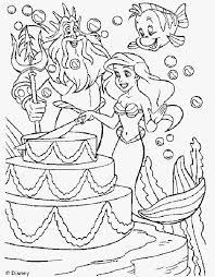 How to download your files from etsy Ariel The Mermaid Coloring Pages Coloring Home