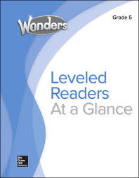Wonders Balanced Literacy Leveled Reader Chart Grade 5