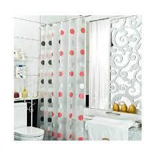 elegant clear shower curtain polka dot concept wonderful ideas clear shower curtain