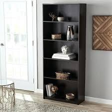 real wood bookcase mainstays 5 shelf standard bookcase multiple colors reclaimed wood bookcase with glass doors