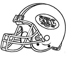 Adult Football Helmet Coloring Pages Printable Football Helmet