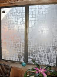 DIY Frosted glass! What a cool idea! Done with squares of tissue and  polycrylic