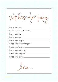 Wishes For Baby Template Baby Wish Cards Template Image 0 New Baby Cards Templates