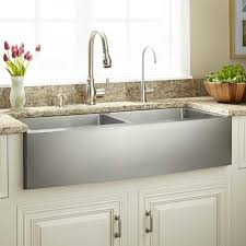 39 optimum double bowl stainless steel farmhouse sink curved within kitchen decor 6