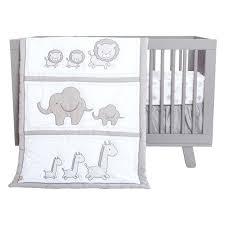 grey and white crib bedding 4 crib bedding set grey white gray and white elephant crib
