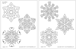 Snow Templates Snowflake Printable Templates Coloring Pages Firstpalette Com