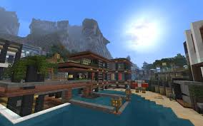 New House Download Modern Villa The Luxurious Cove House Creative Mode Minecraft New