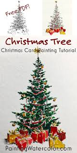 free beautiful christmas cards paint a beautiful christmas tree for your christmas cards free