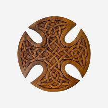 celtic wood carving wall