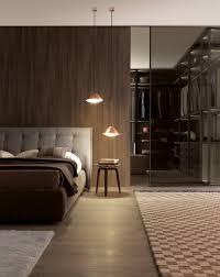 Cool Dark Wood Accent Walls For Pad Bedroom