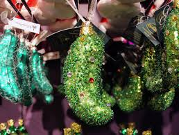 Weihnachtsgurke Christmas Pickle Die Gurke Für Den