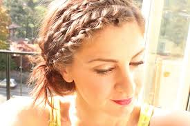 Braided Bangs Hairstyles Braided Headband Hairstyles How To Style Video Tutorial