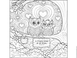 Small Picture Owl Coloring Page with Bible Verse Owl Theme Pinterest