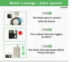 Water Leak Detection System Water Leak Sensor With Alert