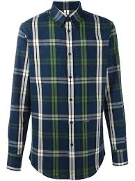 Dsquared Size Chart Dsquared2 Checked Shirt Men Clothing