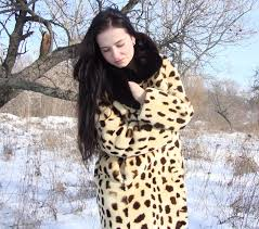 i ve remembered about fabulous fur coat that i got from my grandma coat is realy great made of lama fur of course i freezed a little but it s worth