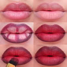 step by step lip makeup tutorial 3 diffe grant lips tutorial red and wine