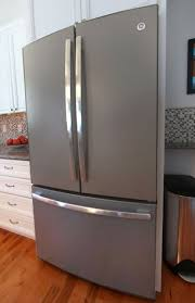 ge slate refrigerator. GE Profile™ Counter-depth French Door Refrigerator In Slate (PWE23KMDES) Ge