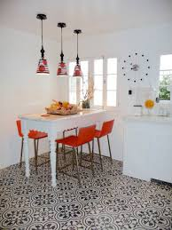 dining room tile flooring. encaustic cement tile dining room floor flooring e