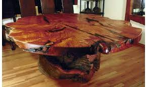 tree trunk coffee table base 2