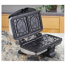 Non Stick Kitchen Appliances Edgecraftar Sportsmans Waffle Maker 292595 Kitchen Appliances