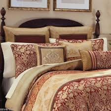 california king set. Interesting California Croscill RENAISSANCE California King COMFORTER 4 Piece SET New Red Gold  Scarlet Intended Set