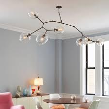 glass bubble chandelier lighting. Image Of: Glass Bubble Chandelier DIY Lighting